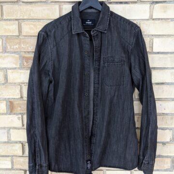 Jeanshemd schwarz