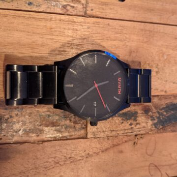 MVMT Uhr schwarz